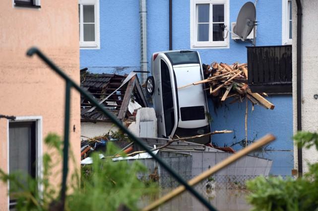 Trois victimes allemandes ont été découvertes par des... (PHOTO AFP)
