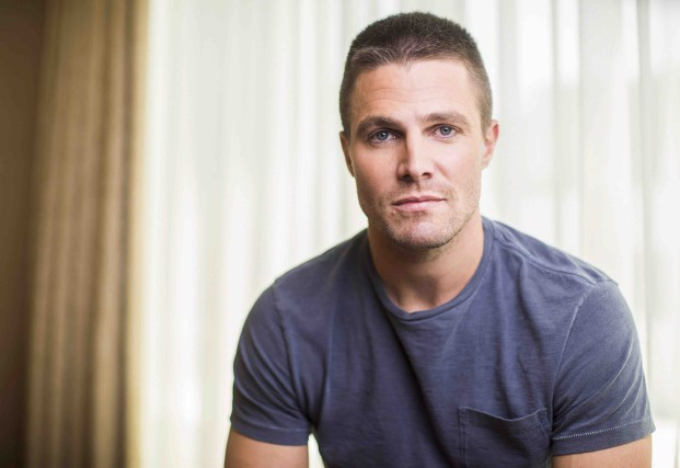 Connu pour la série télé Arrow, Stephen Amell... (La Presse Canadienne, Mark Blinch)