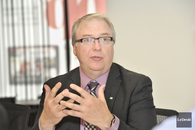 Le commissaire aux services en français, François Boileau,... (Martin Roy, LeDroit)