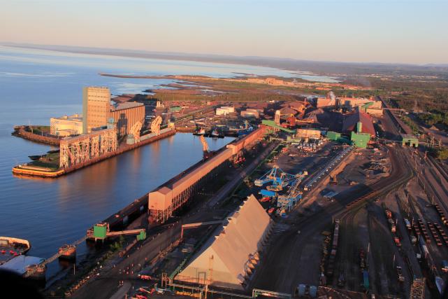 Les installations d'ArcelorMittal à Port-Cartier... (fournie par ArcelorMittal)