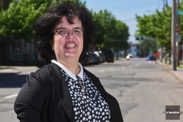 Kathleen Bibeau, présidente du Regroupement des usagers du... (François Gervais, Le Nouvelliste)