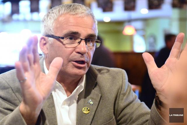 Ghislain Bolduc est le député de Lac-Mégantic.... (Archives, La Tribune)