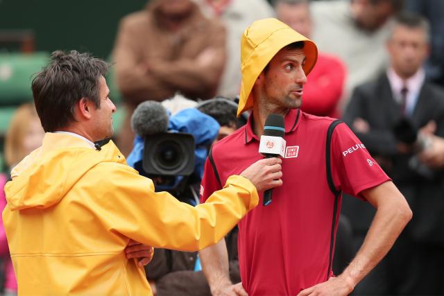 Si Novak Djokovic a été moins tranchant en... (AFP, PHILIPPE LOPEZ)