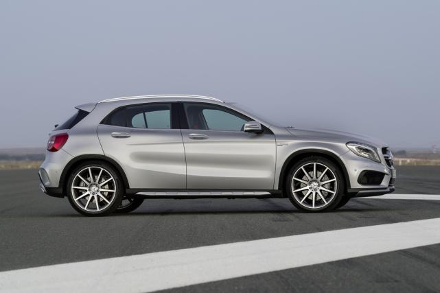 Ce multisegment Mercedes-Benz GLA pourrait d'ici 2020 être... (Photo fournie par le constructeur)