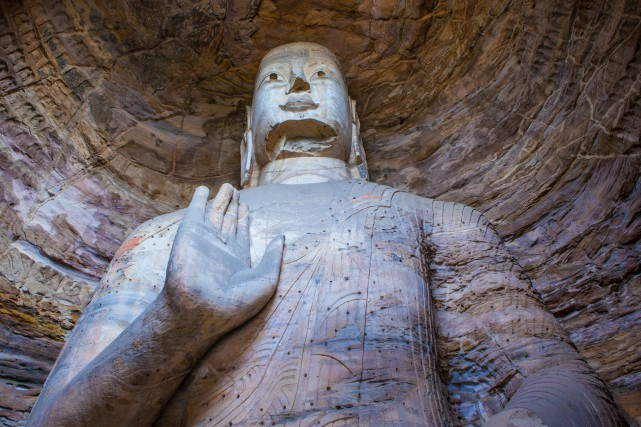 Les 250 grottes de Yungang comptent 51 000 statues... (PHOTO THINKSTOCK)