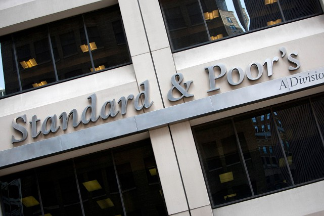 L'agence de notation de crédit Standard& Poor's a... (Photo Scott Eells, archives Bloomberg)