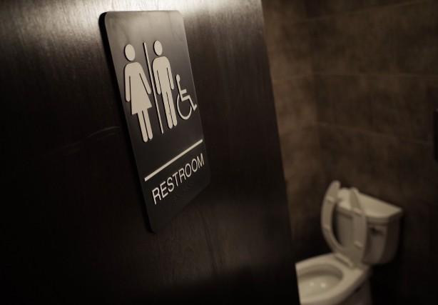 «Aux États-Unis, la question des salles de bains... (Photo Mandel Ngan, archives Agence France-Presse)