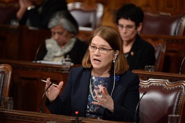 Jane Philpott, ministre fédérale de la Santé... (PHOTO ADRIAN WYLD, LA PRESSE CANADIENNE)