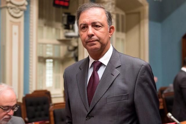 Sam Hamad... (Photo Jacques Boissinot, archives PC)