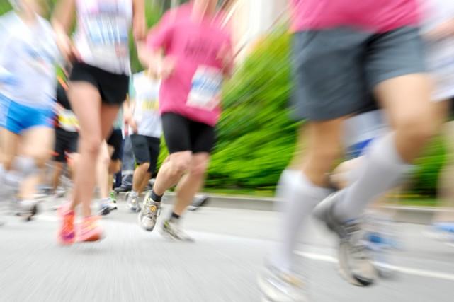 Plus de 200 coureurs ont participé à la 32e édition de la Petite patte... (123rf)