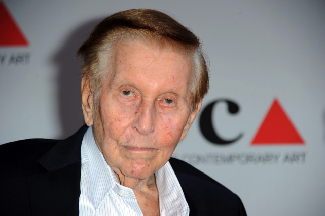Sumner Redstone, 93 ans, est à la tête d'une... (PHOTO Richard Shotwell, ARCHIVES Invision/AP)