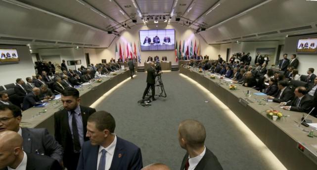 La réunion de l'Organisation des pays exportateurs de... (Photo Ronald Zak, AP)