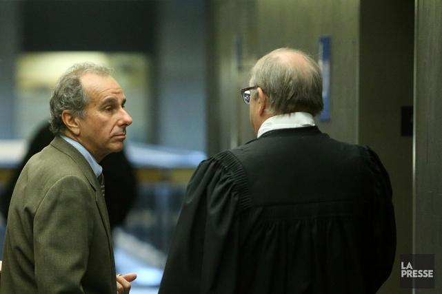 Ronald Weinberg, lors d'un passage en cour en... (Photo Martin Chamberland, archives La Presse)