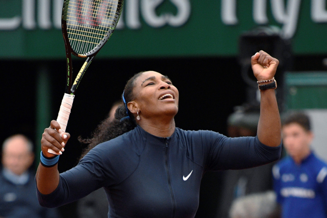 Serena Williams demeure en lice pour un 22e titre du... (Photo Martin Bureau, AFP)