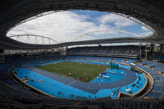 Le stade olympique de Rio... (Photo Felipe Dana, archives AP)
