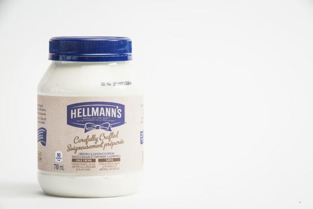Sauce à salade Hellmann's,5,79$ pour 710ml... (PHOTO OLIVIER PONTBRIAND, LA PRESSE)