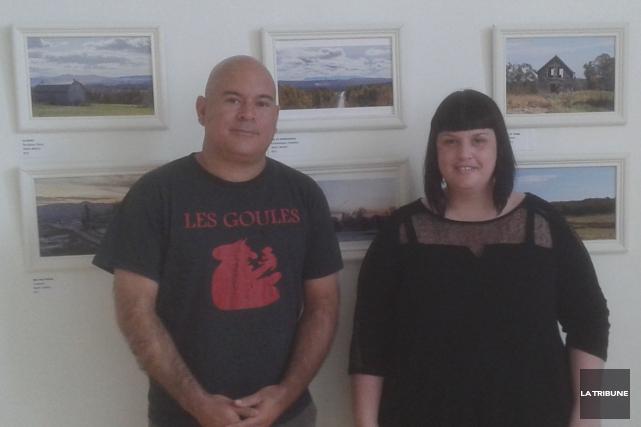 Martin Mailhot et Éve-Marie Roy sont les organisateurs... (La Tribune, Matthew Vachon)