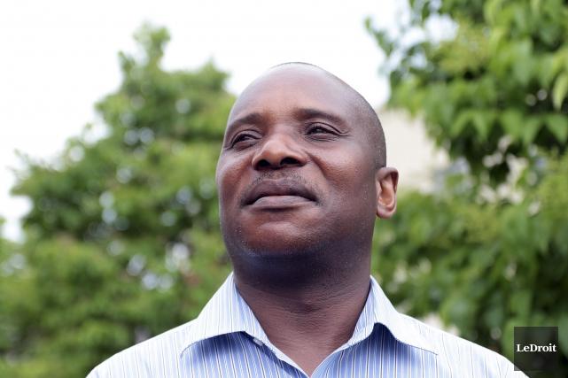 André Ntela Tayeye veut réaliser le projet le... (Etienne Ranger, LeDroit)