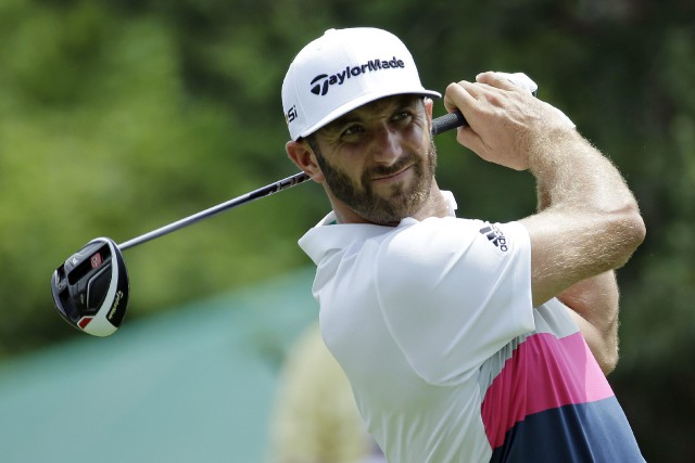 Dustin Johnson... (Photo Darron Cummings, AP)