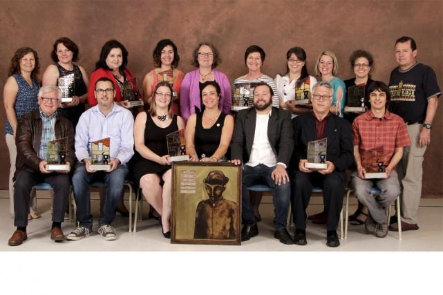 Voici les récipiendaires de la 6e Soirée des... (Photo: CDC-TR)