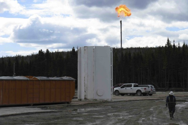 Si le pétrole d'Haldimand no 4 est acheminé... (Collaboration spéciale Geneviève Gélinas)