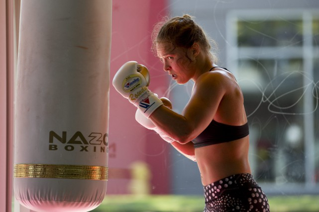 Ronda Rousey... (Photo Jae C. Hong, Archives AP)