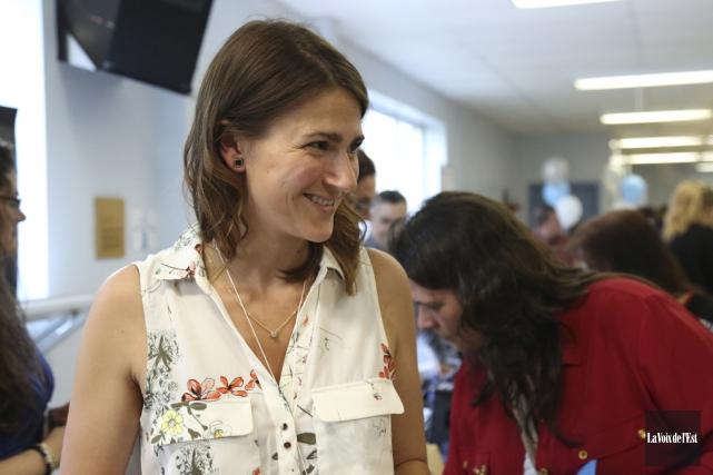 Amélie Boudreau-Bédard est à la tête de l'entreprise... (Julie Catudal, La Voix de l'Est)
