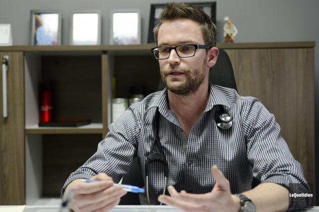 Le docteur Olivier Gagnon, porte-parole régional de la... (Archives Le Quotidien)