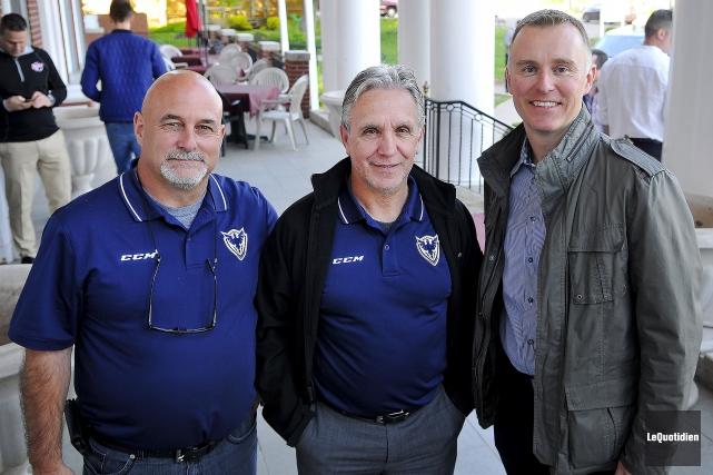 Le recruteur-chef du Phoenix de Sherbrooke, Alain Préfontaine,... (Le Quotidien, Rocket Lavoie)