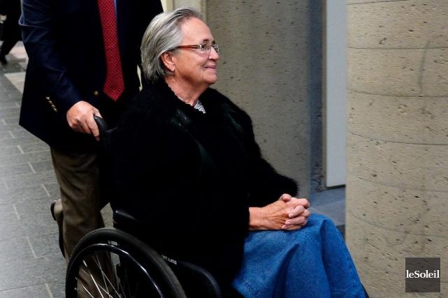 Lise Thibault avait été condamnée à 18mois derrière... (Photothèque Le Soleil, Erick Labbé)