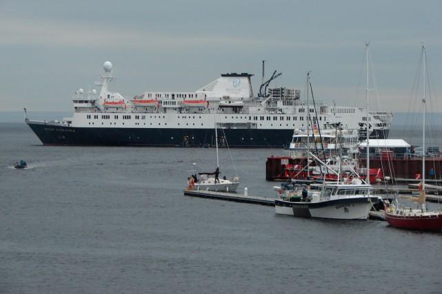 L'Ocean Endeavour, premier navire de croisière depuis des... (Collaboration spéciale Steeve Paradis)