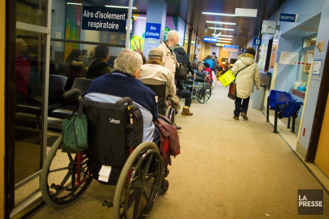 Le séjour moyen pour toutes les visites aux... (Photo André Pichette, archives La Presse)