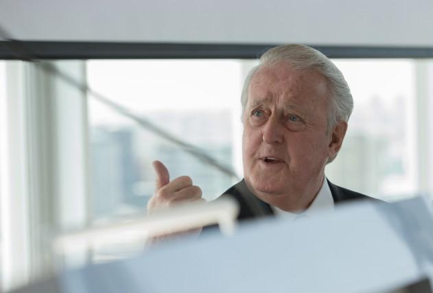 Bien connu à l'étranger, l'ancien premier ministre Brian... (Photo Ivanoh Demers, archives La Presse)