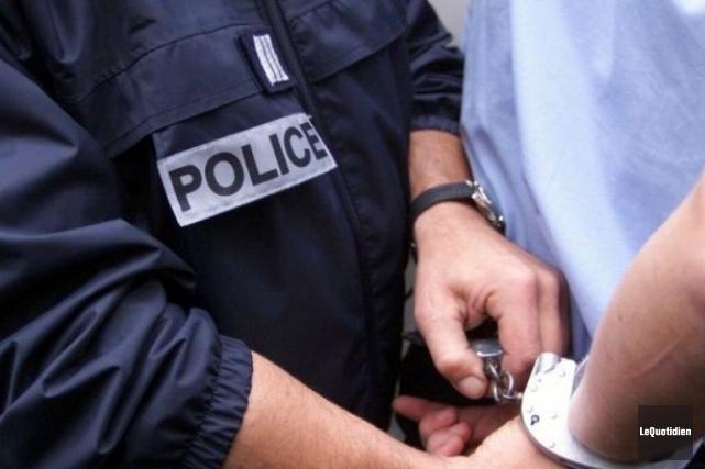 La tendance à la baisse de criminalité s'observe... (Archives Le Quotidien)