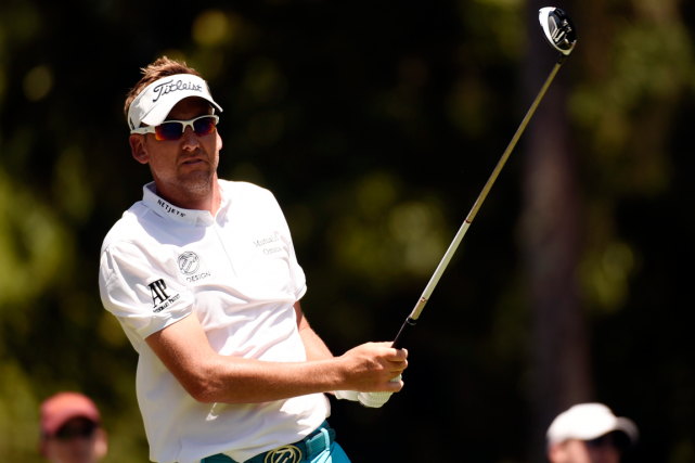 Ian Poulter souffre d'arthrite à une articulation de son... (Photo John David Mercer, USA Today)