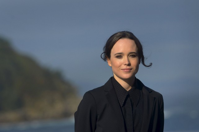 L'actrice canadienne Ellen Page joue l'un des deux... (Photo Vincent West, Archives Reuters)