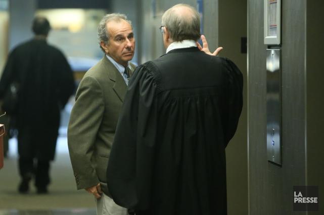 Ronald Weinberg, comme ses coaccusés, est passible d'une... (PHOTO MARTIN CHAMBERLAND, ARCHIVES LA PRESSE)