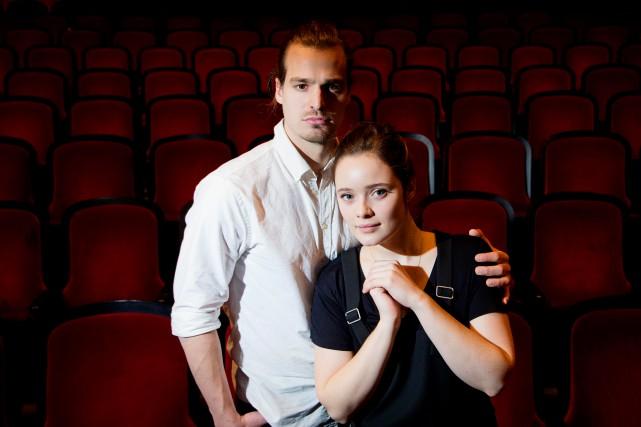 Philippe Thibault-Denis et Marianne Fortier se glisseront dans... (PHOTO ALAIN ROBERGE, ARCHIVES LA PRESSE)