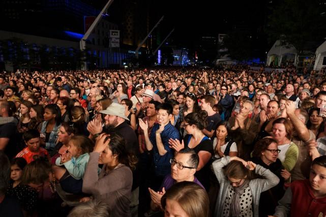 À Montréal, les festivals se succèdent pendant tout... (PHOTO ULYSSE LEMERISE, COLLABORATION SPÉCIALE, ARCHIVES LAPRESSE)