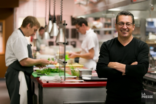 Le chef Normand Laprise, du restaurant Toqué !, a... (PHOTO FRANÇOIS ROY, ARCHIVES LA PRESSE)