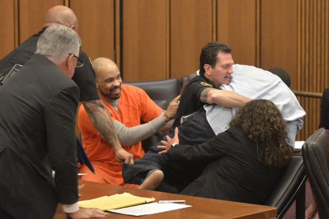 Le tueur en série Michael Madison a été... (AP, David Richard)