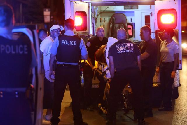 Les autorités de Chicago ont rendu publiques vendredi des dizaines de vidéos et... (Photo Chicago Tribune via AP)