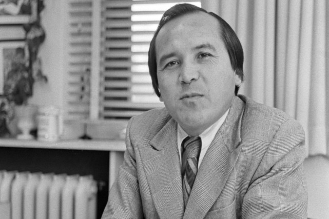 Len Marchand en 1974... (PHOTO ARCHIVES LA PRESSE CANADIENNE)