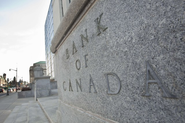 Le taux directeur de la Banque du Canada... (PHOTO ARCHIVES AFP)