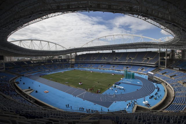 Le Stade olympique de Rio... (Photo Felipe Dana, AP)