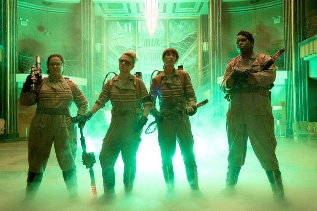 Les actrices de la nouvelle version de Ghostbusters brillaient par... (Photo fournie par Sony Pictures)