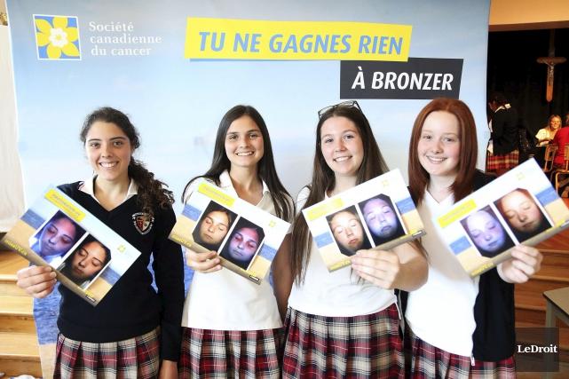 Au Collège Saint-Joseph de Hull, les élèves faisaient... (Etienne Ranger, LeDroit)