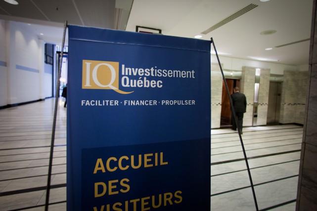 Mis à part l'exercice2012-2013, Investissement Québec n'a jamais... (Photo André Pichette, Archives La Presse)