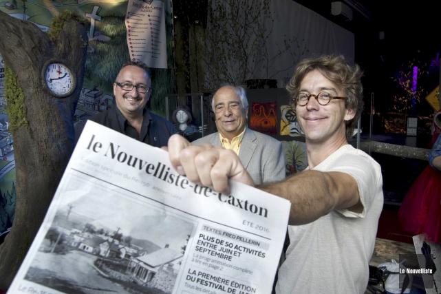 Le maire de St-Élie-de-Caxton, Réjean Audet, le Re-président... (Sylvain Mayer, Le Nouvelliste)