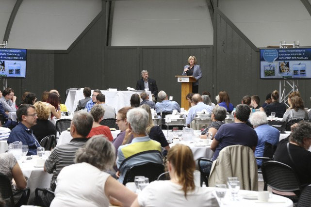 Le 28e Colloque annuel de l'action municipale en... (Photo Janick Marois)
